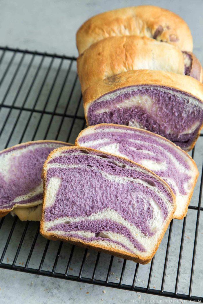 Ube Milk Bread